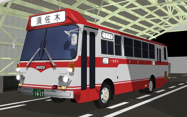 いすゞ中型バス