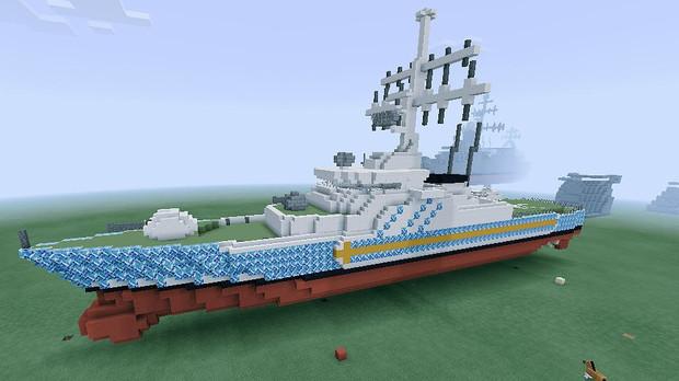 【Minecraft】新型巡視艇 『スミノフ級』