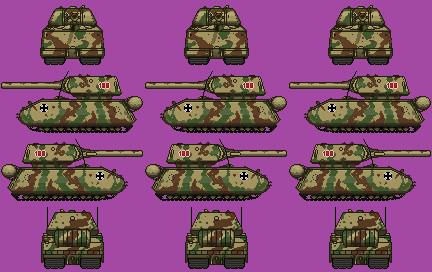 ガールズ&パンツァーより超重戦車マウス