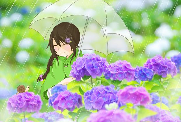 彼女と梅雨のデートなうに使っていいよ