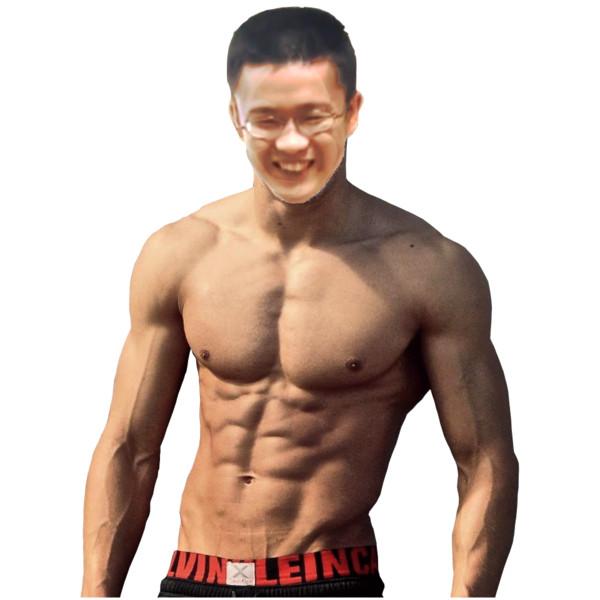 筋肉質な大物YouTuber