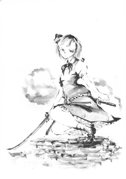 真剣お絵描き60分一本勝負 in ニコ童祭・魂魄妖夢