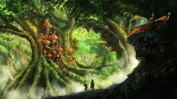 巨大樹の森 えす さんのイラスト ニコニコ静画 イラスト