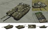 MMD用モブ主力戦車1980(モブT72B)セット