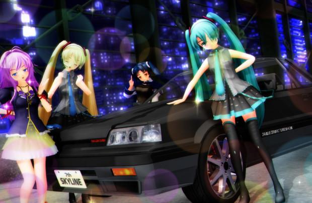 カッコいい車だよ☆