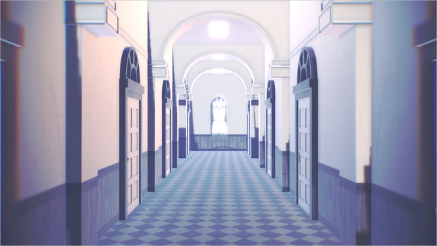 【MMDあんスタ】 夢ノ咲風の廊下 【再配布】