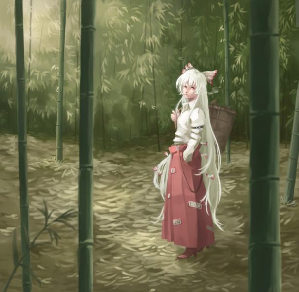 竹林の迷い人