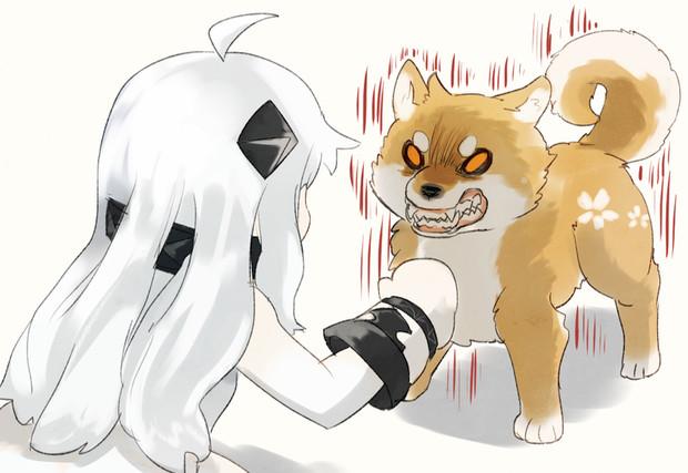 ほっぽちゃんと烈風犬