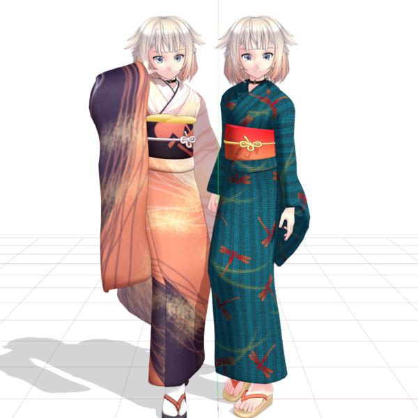 金子式ONE 和服テクスチャセット配布