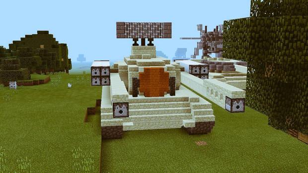 【Minecraft】対空車両