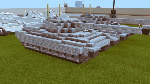 【Minecraft】センチュリオン重巡行戦車 改良