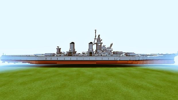 【Minecraft】新型戦艦 進水