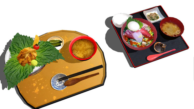 【南三陸】歌津海鮮丼セット【復興応援モデル】