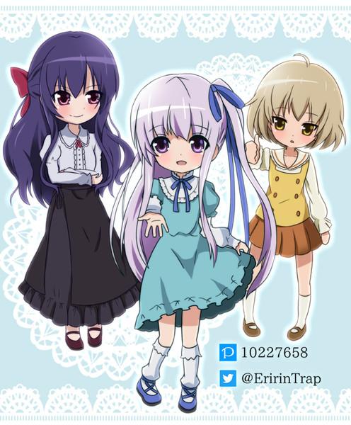 天使の3P!デフォルメー(^o^)