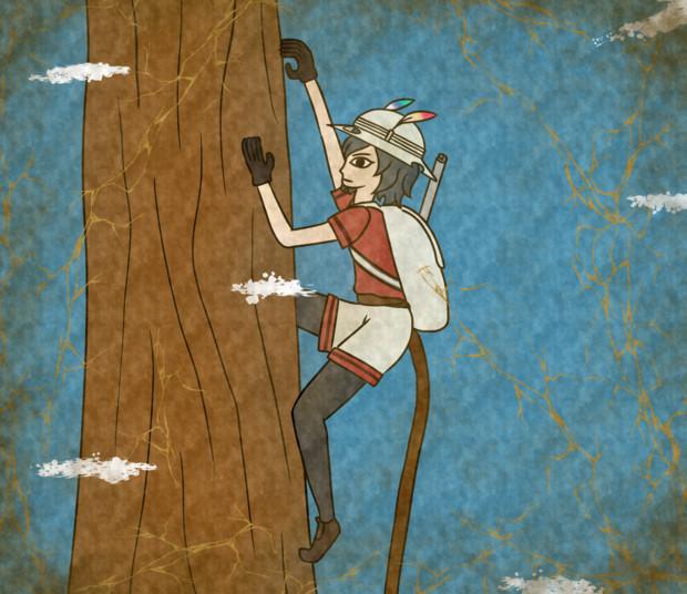 壁画木登り キタ さんのイラスト ニコニコ静画 イラスト