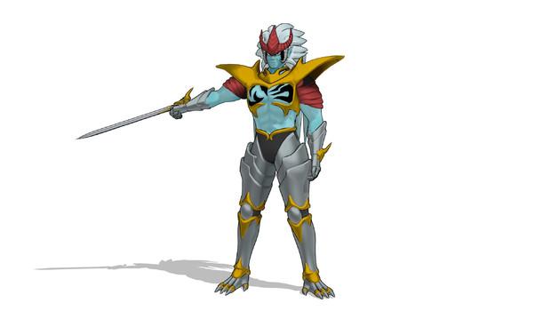 MMDモデル「超魔生物ハドラー」