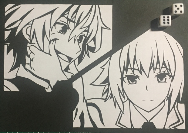 Fate/Apocrypha 切り絵