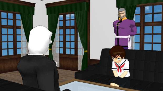 お祭り一日目:お昼、日本の代表との会談