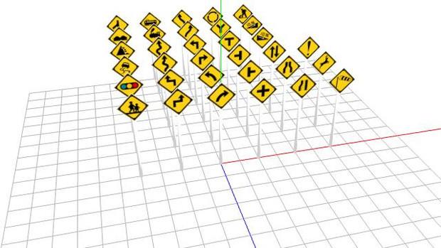 道路標識セットその2Ver1.1【更新しました】