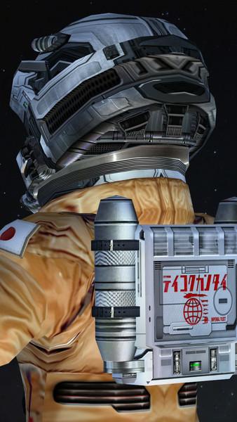 スターラスターガール 一般パイロット宇宙服モデル進捗 2