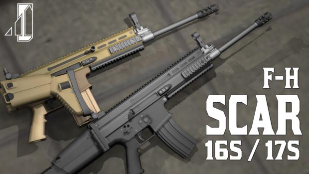 【提供中】F○H SCAR16S/17S【MMDモデルデータ】