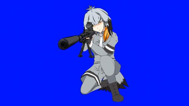 M82銃を撃つ84B-65(GIFアニメ)