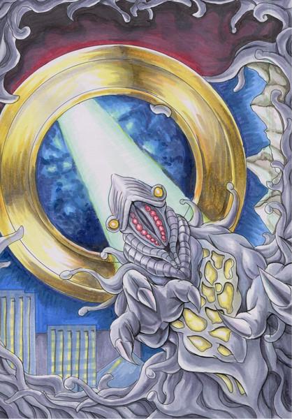 UFO怪獣アブドラールス