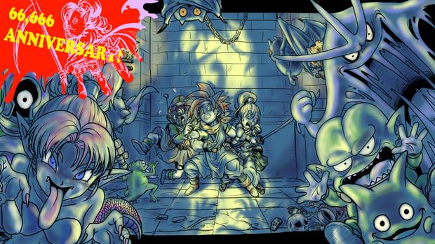 クロノトリガー 迫り来る魔物たち ハチワレ さんのイラスト ニコニコ