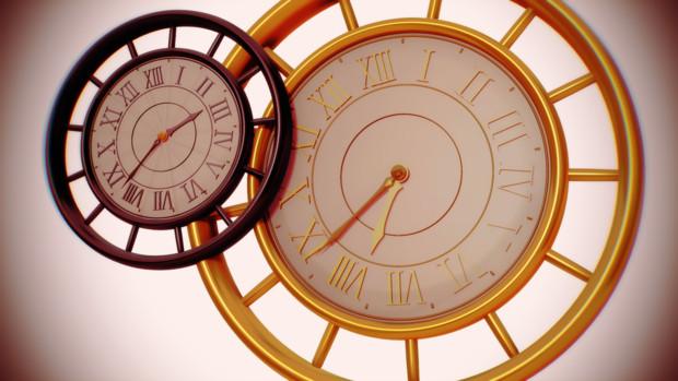 【アクセサリ配布】13時時計