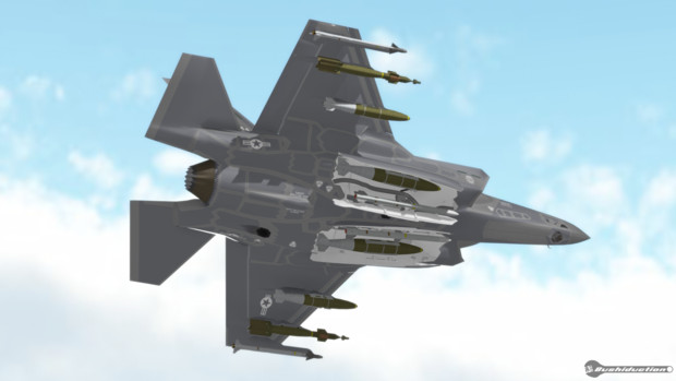 Full Armed F35