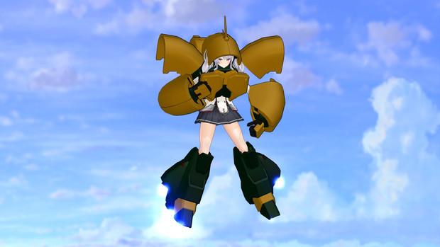 【MMD】ぶ・・武器は・・・【艦MS】