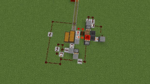 アイテム輸送自動駅アイテムがない場合止まるシステム付き