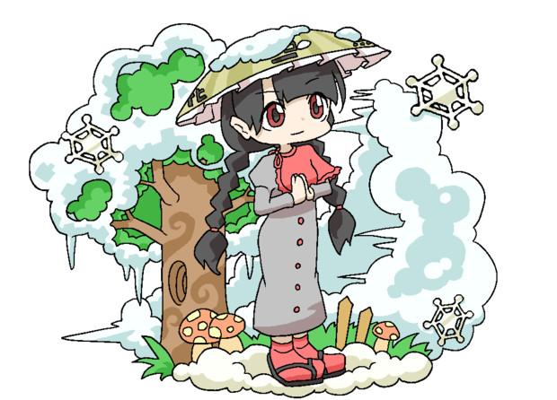 冬至の地蔵