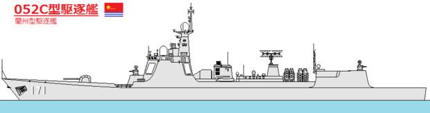 052C型駆逐艦