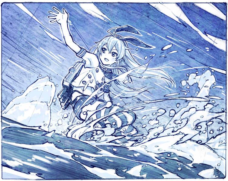 波乗り島風