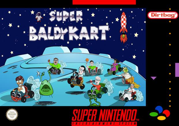 Super Baldy Kart パッケージ