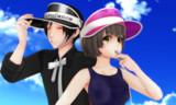 【MMD】サンバイザー配布開始【配布支援】