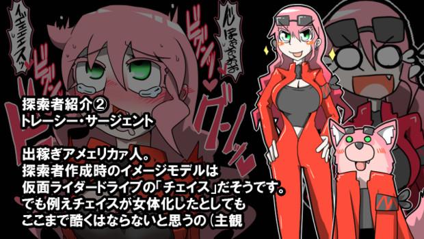 【CoC探索者】紅い衣を纏ったルーニー