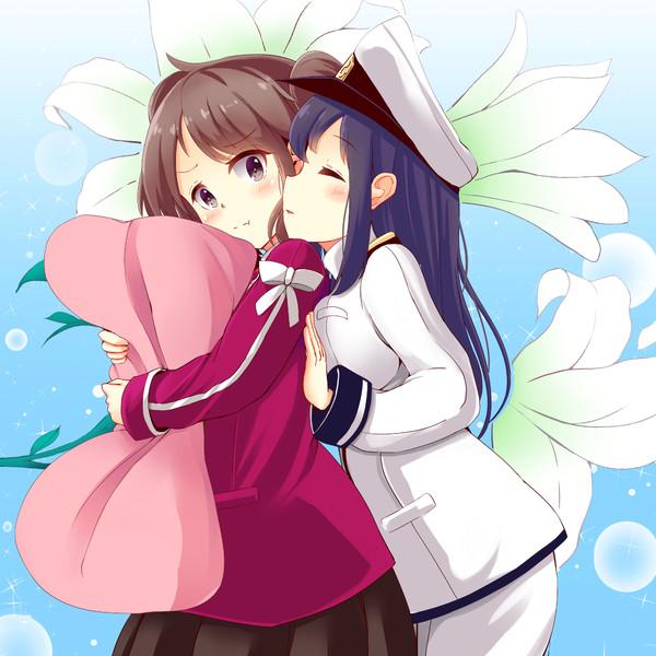 艦これ【龍驤におやすみのキスをねだる提督】