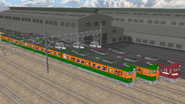 【モデル配布】115系電車ーJR東海仕様ー【MMD鉄道】