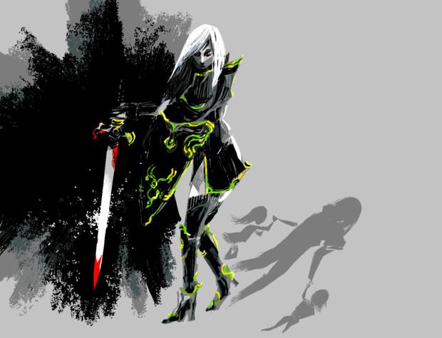 暗黒騎士ユリナ