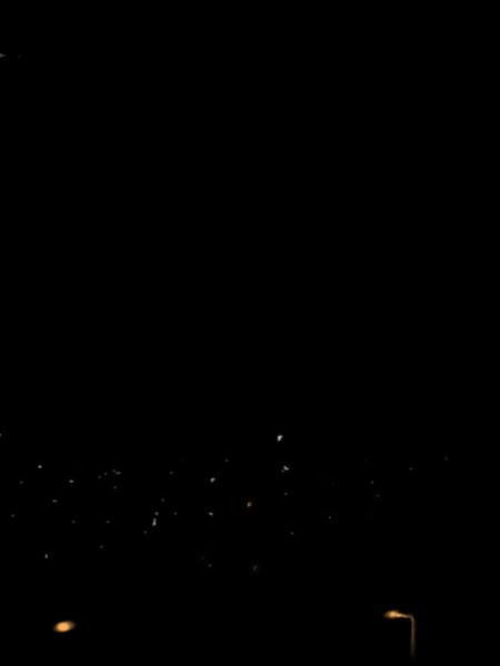 夜の落雷gifアニメ