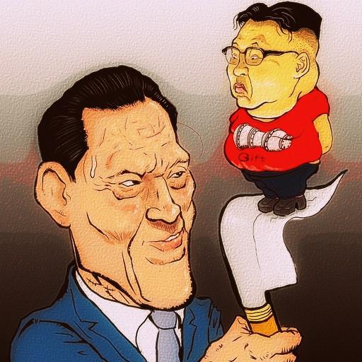 猪木参議院議員訪朝するの 木住野武 さんのイラスト ニコニコ静