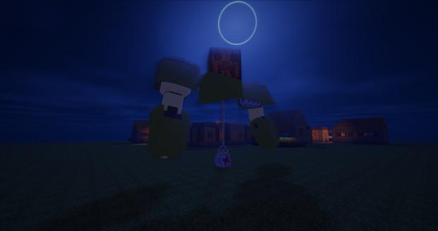 Minecraft」大会用の機体制作中level1「jointblock