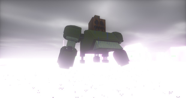 Minecraft」大会用の機体制作中level2「jointblock