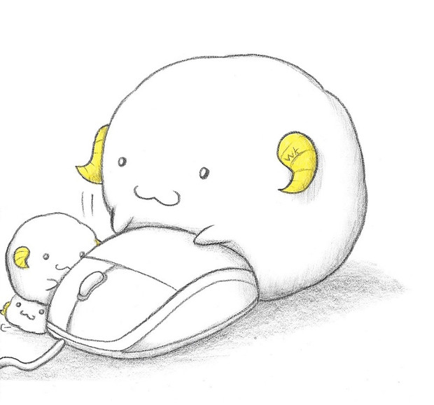 マウスとヒツジ わにねこwithくまこ さんのイラスト ニコニコ静画