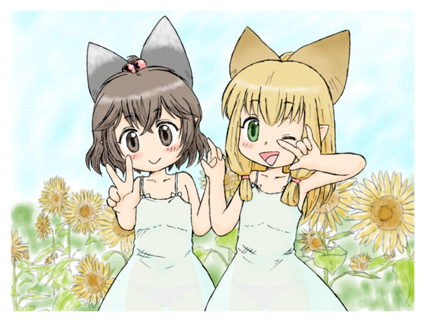 MHXX・カティさんとミルシィちゃん