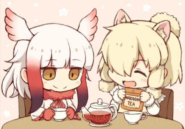 これね、新茶って言うんだってぇハカセに教えてもらったの!