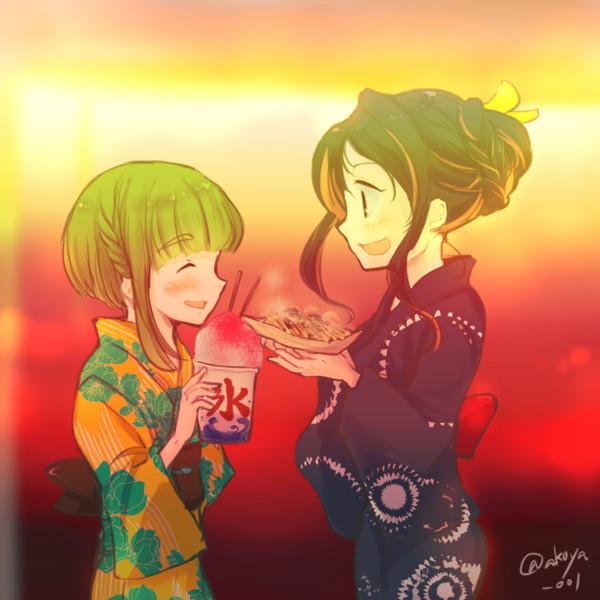 【艦これ】長波高波秋祭り