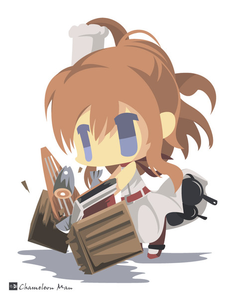 お題箱「クッキング サラトガをお願いします! (意外に料理上手なのでお料理をするサラトガを)」